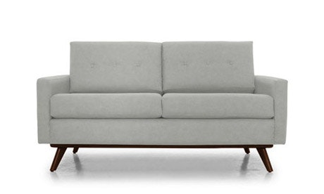 Hopson Leather Apartment Sofa