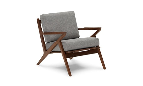 Beau Quick Ship + Quick View · Soto Concave Arm Chair