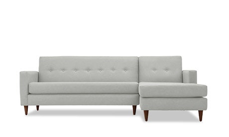 Korver Leather Apartment Sectional