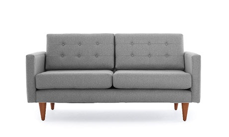 Eliot Leather Apartment Sofa