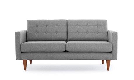 Eliot Leather Apartment Sofa