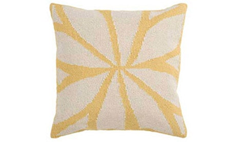 Bloom (Yellow) Pillow