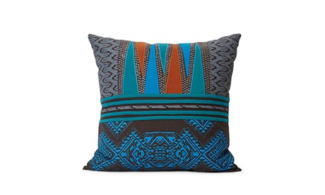Victoria (Teal) Pillow