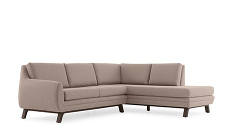 Calhoun  Sectional with Bumper