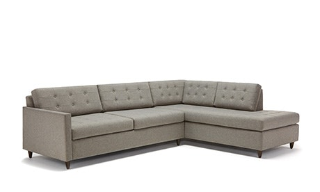 + Quick View · Eliot Bumper Sleeper Sectional