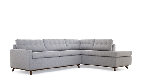 Hopson Bumper Sleeper Sectional