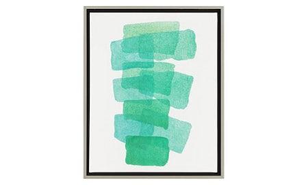 Carolyn Teal Wall Art