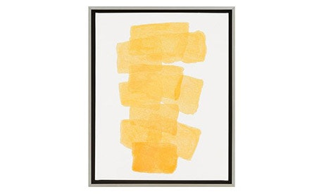 Carolyn Yellow Wall Art