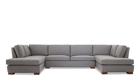 + Quick View · Anton U-Bumper Sectional  sc 1 st  Joybird : u sofa sectional - Sectionals, Sofas & Couches