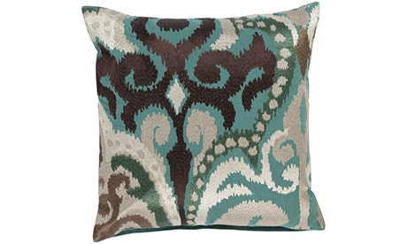 Madeleine (Teal) Pillow