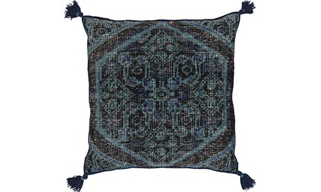 Helene (Blue) Pillow