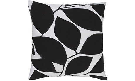 Emily (Black) Pillow