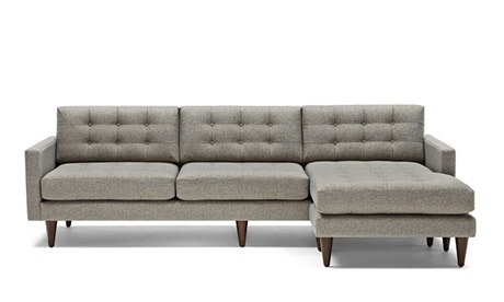 + Quick View · Eliot Reversible Sectional  sc 1 st  Joybird : mid century sectional - Sectionals, Sofas & Couches