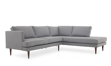 Preston Sectional with Bumper (2 piece)