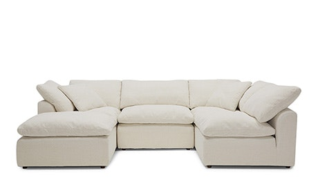 Bryant U Sofa Bumper Sectional (5 Piece)