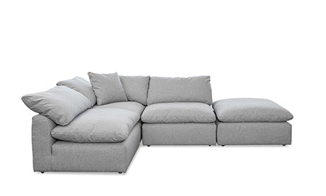 Bryant Sectional with Bumper (4 piece)