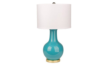 Cyndi (Teal) Table Lamp