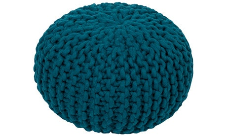 Riley (Teal) Pouf