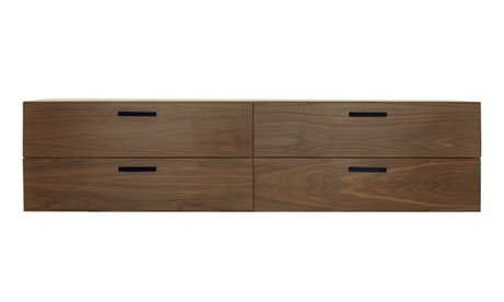 Hudson 4 Drawer Wall Mount