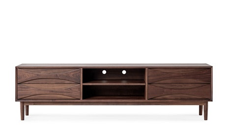 Quick Ship + Quick View · Stella Low Media Console