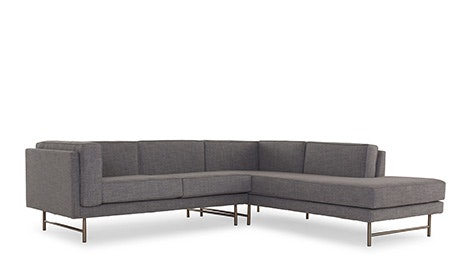 Astor Sectional with Bumper (2 piece)