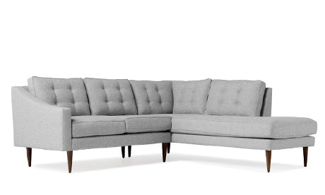 Holloway Sectional with Bumper