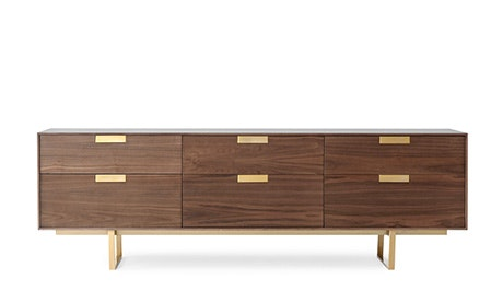 Lincoln 6 Drawer Console
