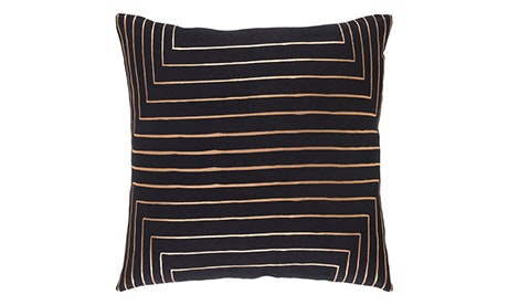 Lena (Black) Pillow