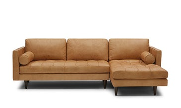Briar Leather Sectional