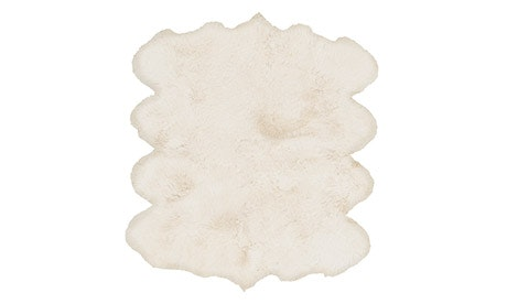Evelyn (Neutral) Sheepskin Rug