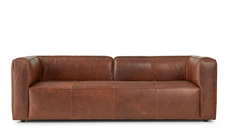 + Quick View · Logan Leather Sofa