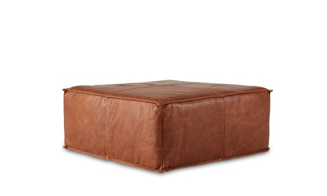 + Quick View · Lyle Leather Ottoman