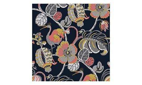 Rouge Tropical Fete Wallpaper