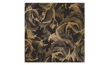 Black & Gold L'Amour Wallpaper