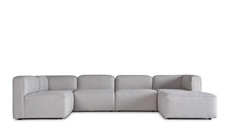 Logan Modular U-Sofa Bumper Sectional