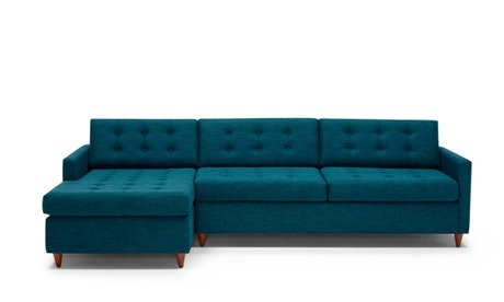Quick Ship + Quick View · Eliot Sleeper Sectional