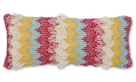 Shaggy Lumbar Pillow