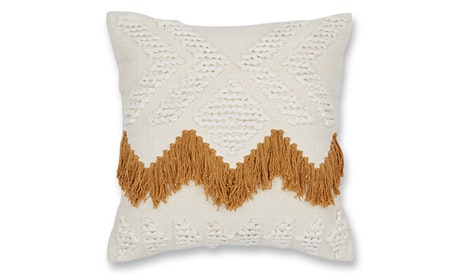 Fringe (Tan) Pillow