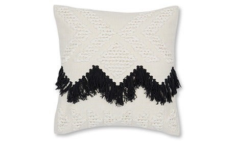 Fringe (Black) Pillow