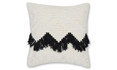 Fringe (Black) Pillow
