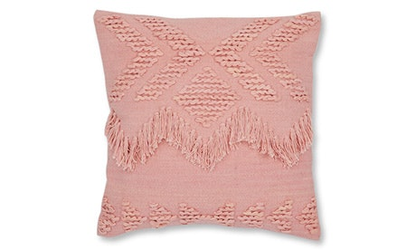 Fringe (Blush) Pillow