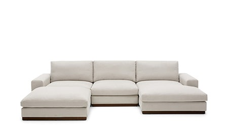 Holt Modular U-Sofa Bumper Sectional