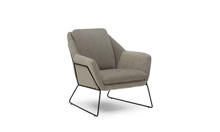 Ivo (Charcoal) Accent Chair