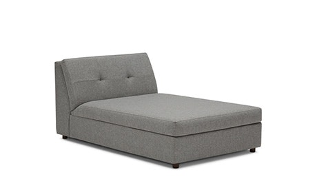 Carson Armless Chaise with Storage