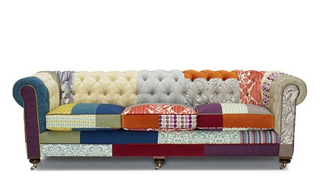 Liam Patchwork Sofa (Brooklyn Edition)