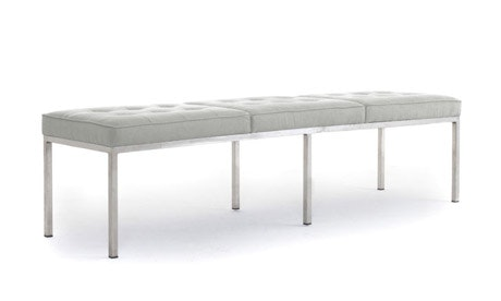 Franklin Leather Bench