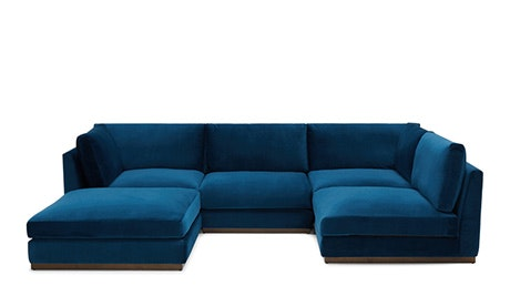 Holt Armless U-Sofa Sectional