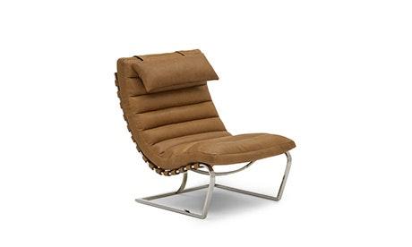 Halston Leather Chair
