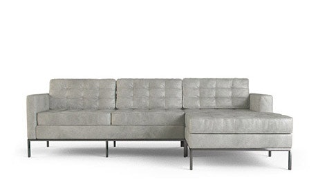 Franklin Leather Sectional