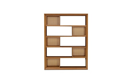 Lois Bookcase with Storage